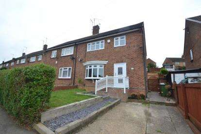 3 Bedrooms Semi Detached House for sale in Dalkeith Road, Wellingborough, Northamptonshire
