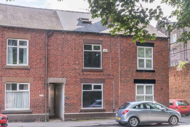 3 Bedrooms Terraced House for sale in The Dale, Woodseats