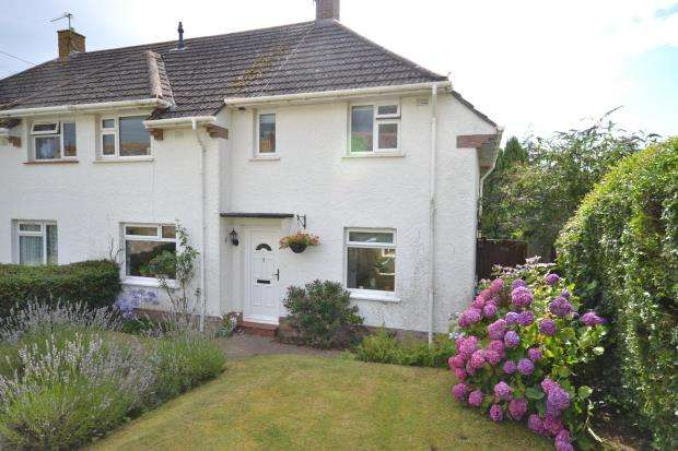 3 Bedrooms Semi Detached House for sale in Queens Road, Budleigh Salterton, Devon
