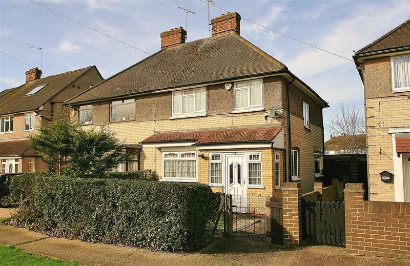 3 Bedrooms Semi Detached House for rent in HAYES END