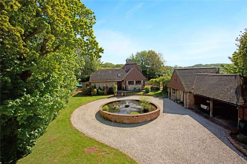 4 Bedrooms Detached House for sale in Town Littleworth, Nr. Barcombe, East Sussex, BN8