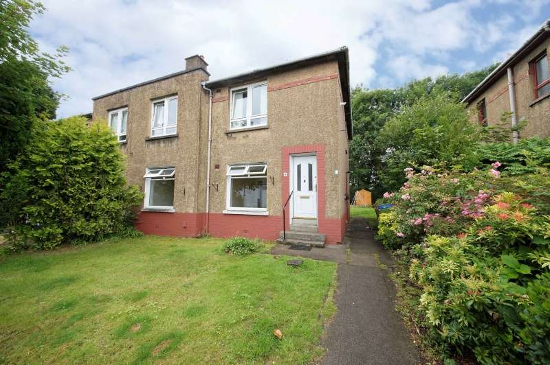 2 Bedrooms Flat for sale in Lesmuir Drive, Scotstoun, Glasgow, G14 0EG