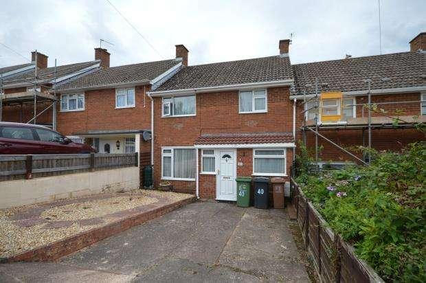 3 Bedrooms Terraced House for sale in Lancelot Road, Beacon Heath, Exeter, Devon