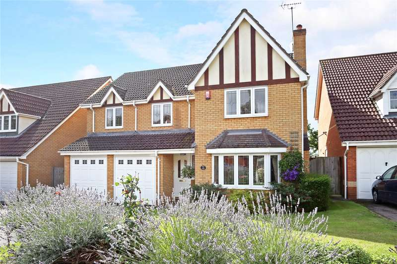 5 Bedrooms Detached House for sale in Hunters Way, Spencers Wood, Reading, Berkshire, RG7
