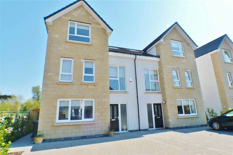 4 Bedrooms Semi Detached House for sale in Caitlin Gardens, Stewartfield, EAST KILBRIDE