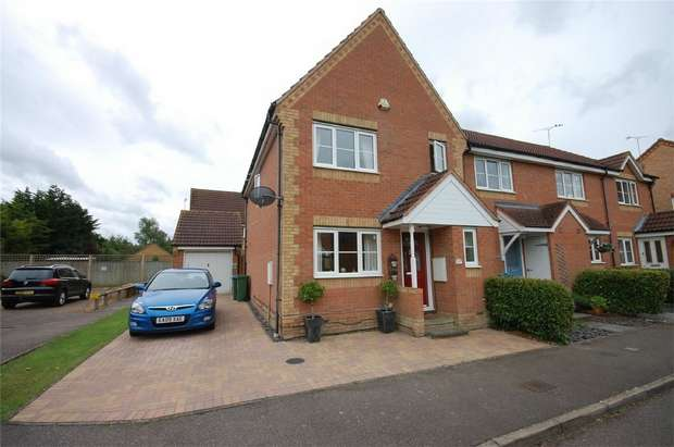 3 Bedrooms End Of Terrace House for sale in Hinds Way, Aylesbury, Buckinghamshire