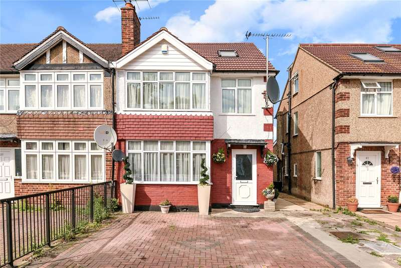 4 Bedrooms Semi Detached House for sale in Sandringham Road, Northolt, Middlesex, UB5
