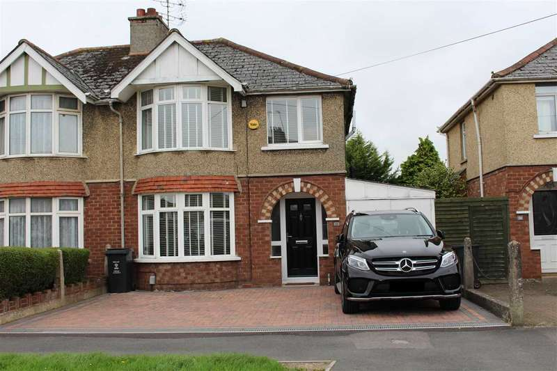 3 Bedrooms Semi Detached House for sale in Cumberland Road, Old Walcot, Swindon