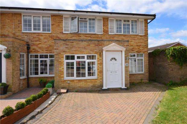 3 Bedrooms Semi Detached House for sale in Wheatfield Close, Maidenhead, Berkshire