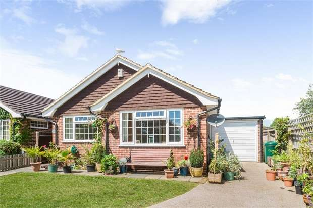 3 Bedrooms Detached Bungalow for sale in Swanley Close, Eastbourne, East Sussex