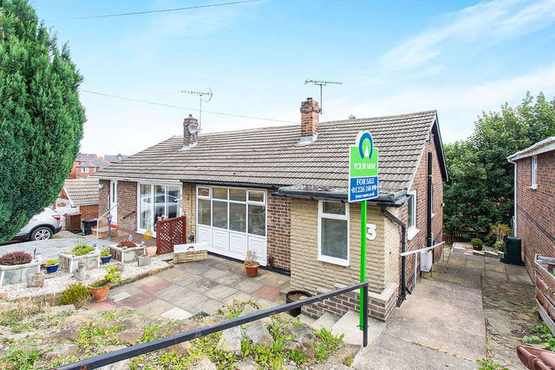 2 Bedrooms Semi Detached Bungalow for sale in Greenhill Avenue, Barnsley, S71