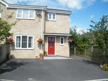 3 Bedrooms Semi Detached House for sale in Hamworthy, Poole, Dorset