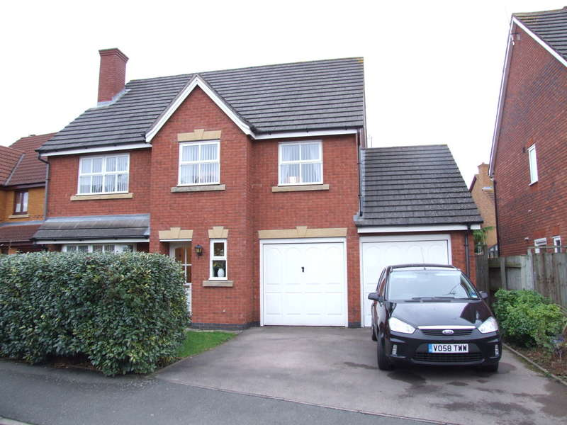5 Bedrooms Detached House for sale in Burma Close, Evesham