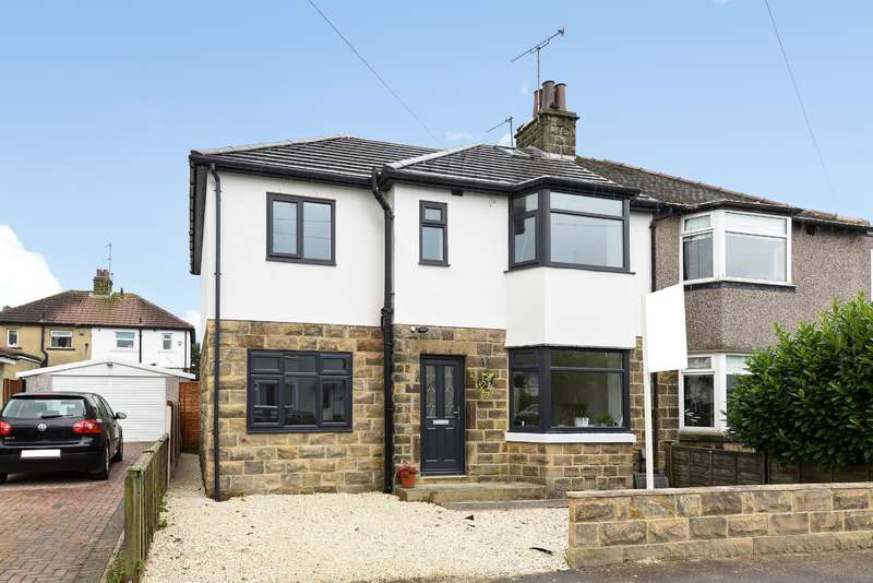 4 Bedrooms Semi Detached House for sale in Tarn View Road, Yeadon, Leeds, LS19 7TF