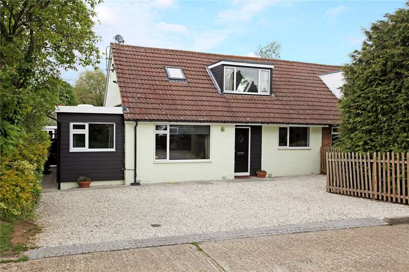 3 Bedrooms Semi Detached House for sale in Heathrow, Gomshall, Guildford, Surrey, GU5
