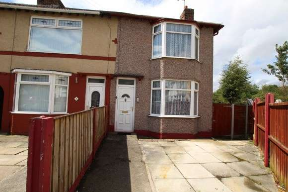 3 Bedrooms End Of Terrace House for sale in Willis Close, Whiston, Prescot