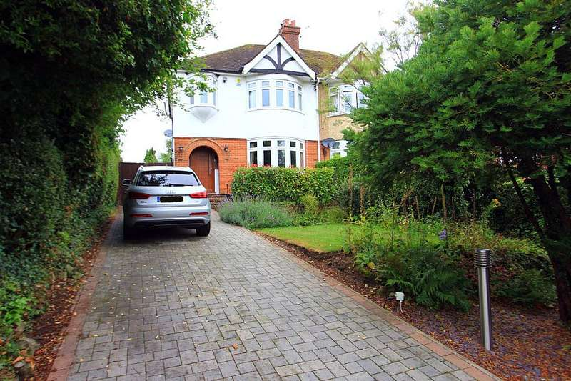 3 Bedrooms Semi Detached House for sale in Castle Way, Leybourne, West Malling, Kent, ME19