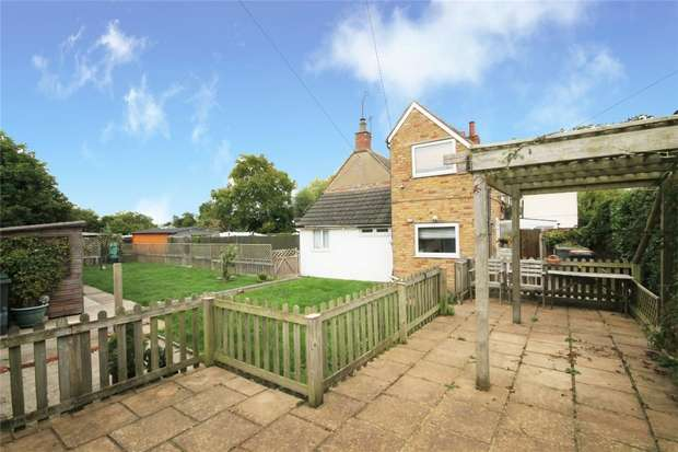 2 Bedrooms End Of Terrace House for sale in Hall End Road, Wootton, Bedford