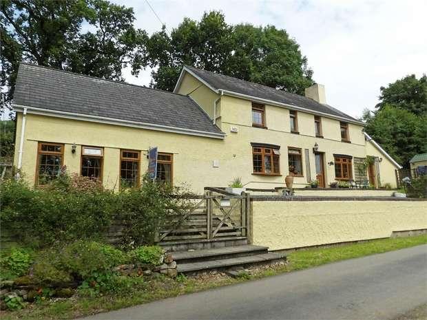 4 Bedrooms Detached House for sale in Dryslwyn, Dryslwyn, Carmarthen