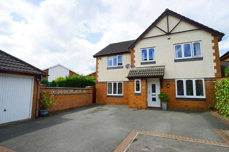 5 Bedrooms Detached House for sale in Rotherhead Close, Horwich