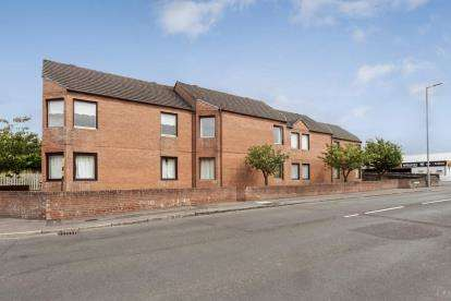 2 Bedrooms Flat for sale in St. Leonards Road, Ayr