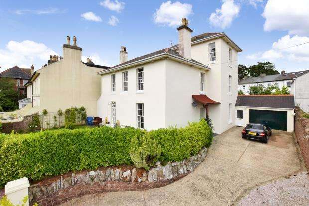 5 Bedrooms Detached House for sale in Lower Polsham Road, Paignton, Devon