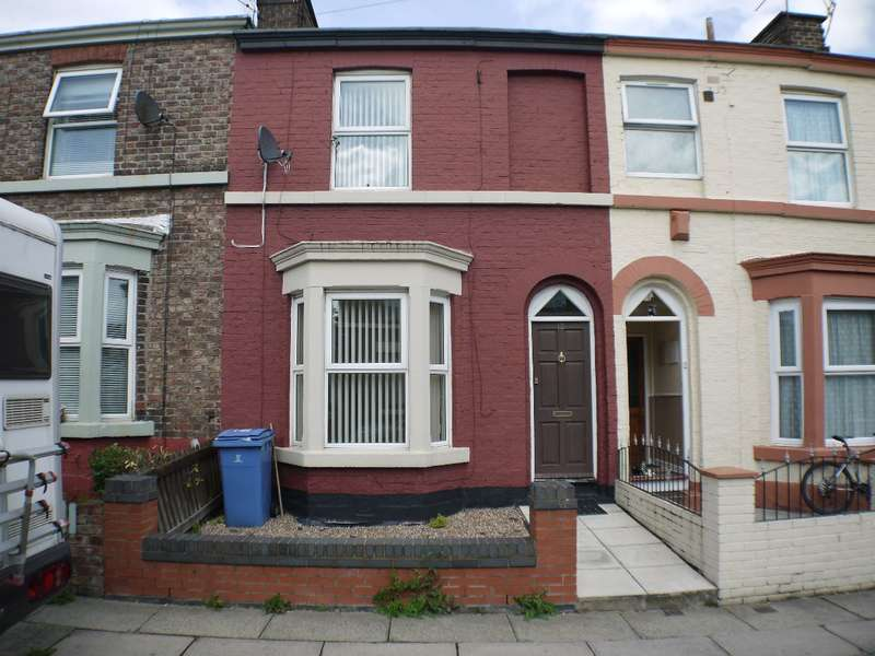 2 Bedrooms Terraced House for sale in Palmerston Road, Garston, Liverpool, L19