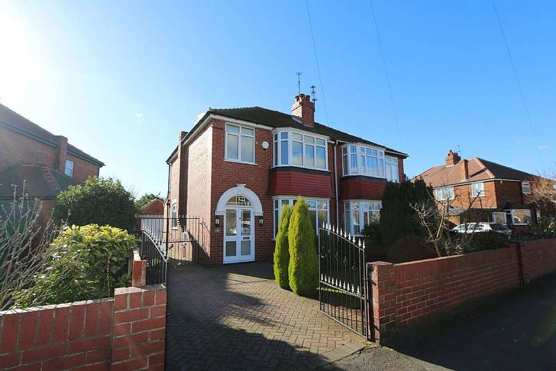 3 Bedrooms Semi Detached House for sale in Chestnut Avenue, Wheatley Hills, Doncaster, South Yorkshire, DN2 5SP