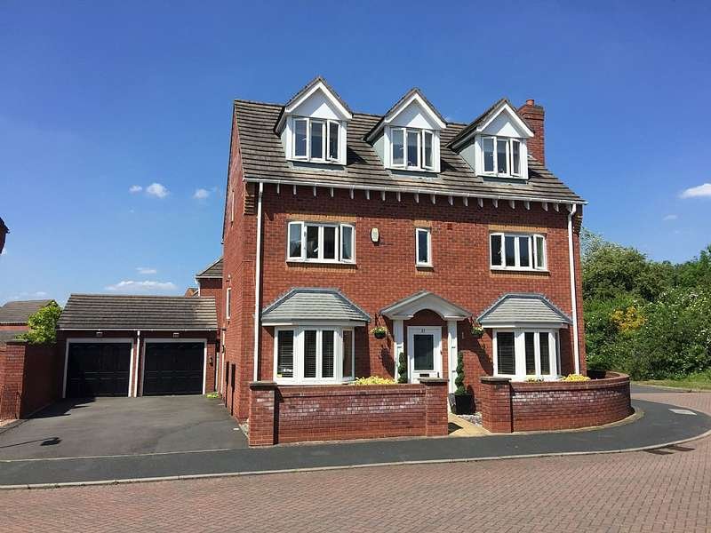 5 Bedrooms Detached House for sale in Dulwich Grange, Bratton, Telford, Shropshire, TF5 0ED