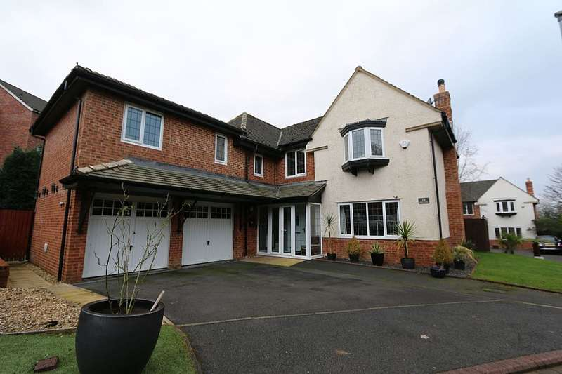 6 Bedrooms Detached House for sale in Eden Park, Blackburn, Lancashire, BB2
