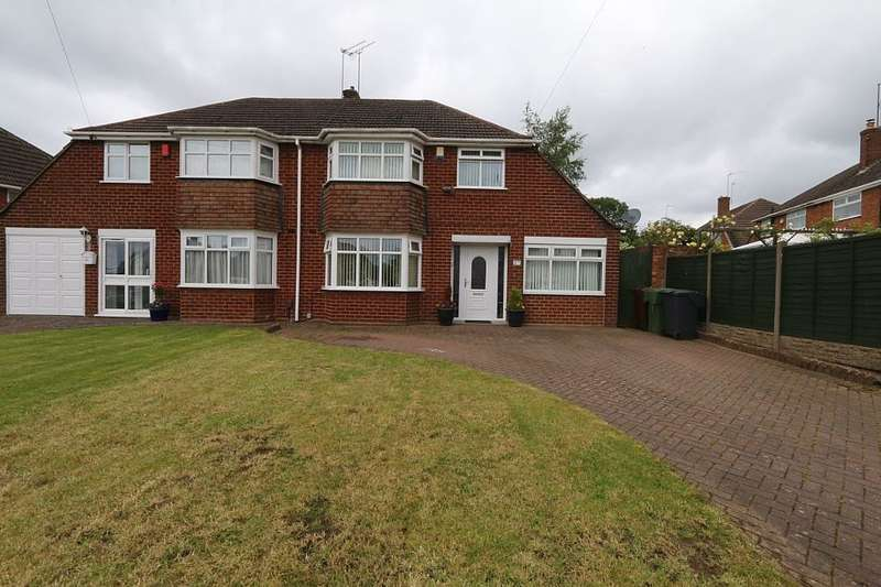 3 Bedrooms Semi Detached House for sale in Segbourne Road, Rubery, Birmingham, Worcestershire, B45 9SY