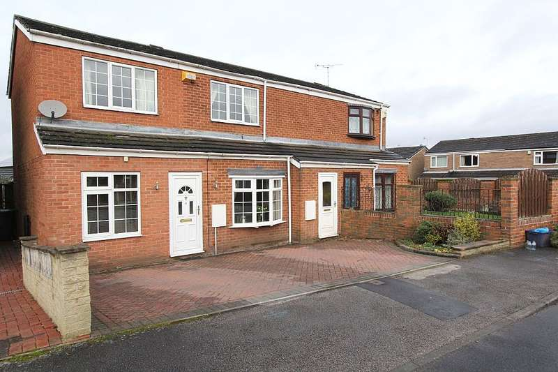 4 Bedrooms Semi Detached House for sale in Taylor Crescent, Woodsetts, Worksop, South Yorkshire, S81 8SG