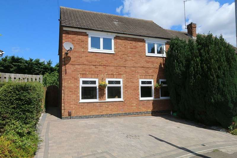 3 Bedrooms Semi Detached House for sale in Washbrook Close, Little Billing, Northampton, Northamptonshire, NN3 9AP