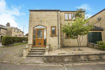3 Bedrooms Link Detached House for sale in Royd Lane, Illingworth, Halifax, West Yorkshire