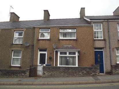 3 Bedrooms Terraced House for sale in Glynllifon Square, Groeslon, Caernarfon, Gwynedd, LL54