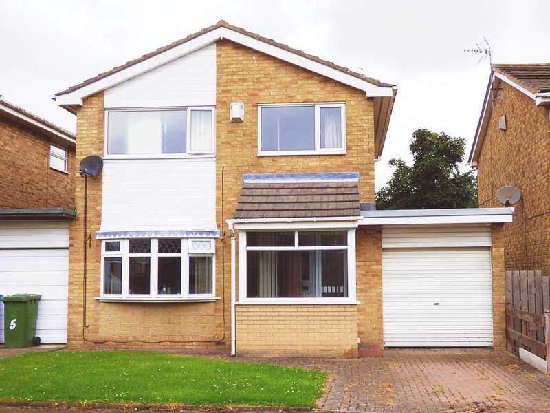 3 Bedrooms Detached House for sale in Larriston Place, Cramlington, NE23