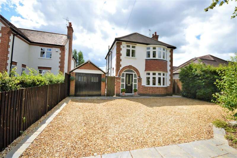 3 Bedrooms Detached House for sale in Linden Avenue, Countesthorpe, Leicester, LE8 5PG