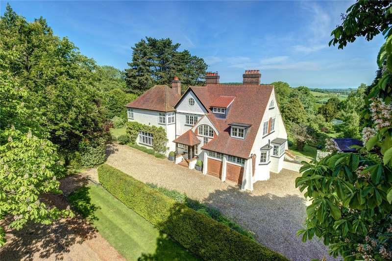 5 Bedrooms Detached House for sale in Grimms Hill, Great Missenden, Buckinghamshire, HP16
