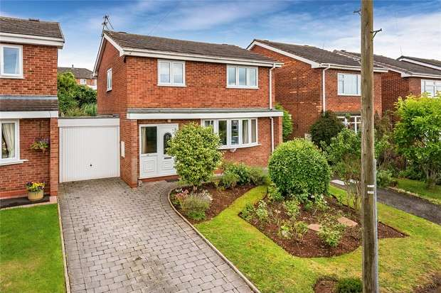3 Bedrooms Detached House for sale in Elizabeth Avenue, BRIDGNORTH, Shropshire