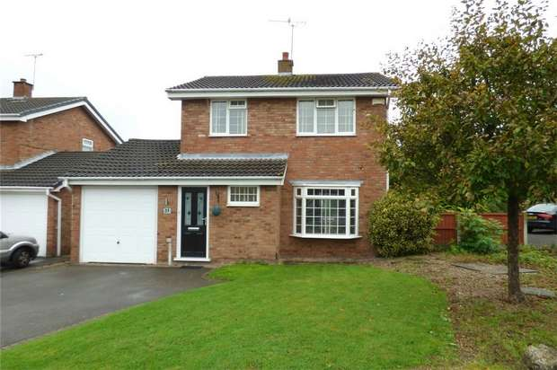 3 Bedrooms Detached House for sale in Chartwell Close, Whitestone, Nuneaton, Warwickshire