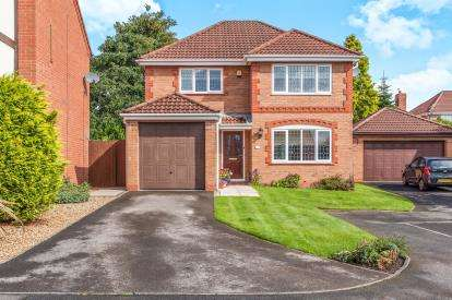 4 Bedrooms Detached House for sale in Sedgwick Close, Westhoughton, Bolton, Greater Manchester, BL5
