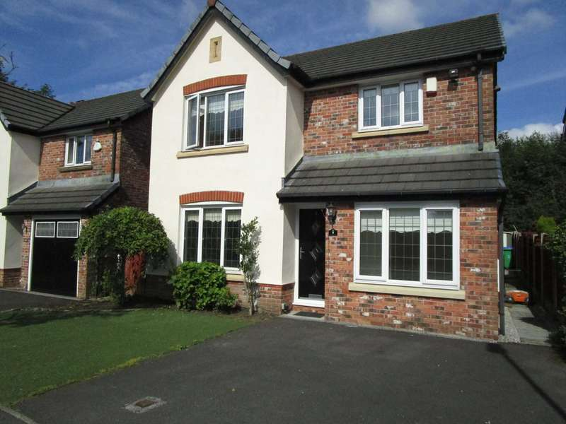 4 Bedrooms Detached House for sale in Burnet Close, Rochdale