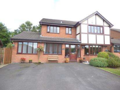 4 Bedrooms Detached House for sale in Cumbrian Way, Burnley, Lancashire