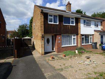 3 Bedrooms Semi Detached House for sale in Airedale Close, Long Eaton, Nottingham