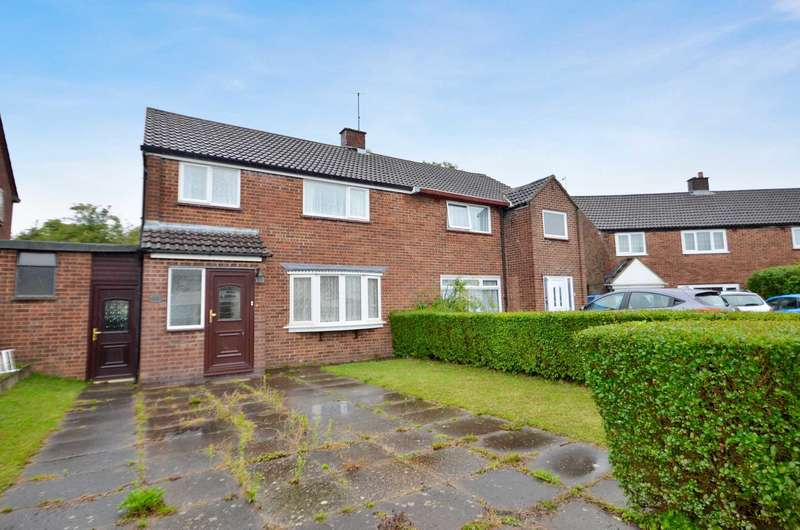 3 Bedrooms Semi Detached House for sale in Warwick Road, Bletchley