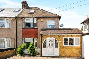 3 Bedrooms Semi Detached House for sale in Palm Avenue, Sidcup, Kent