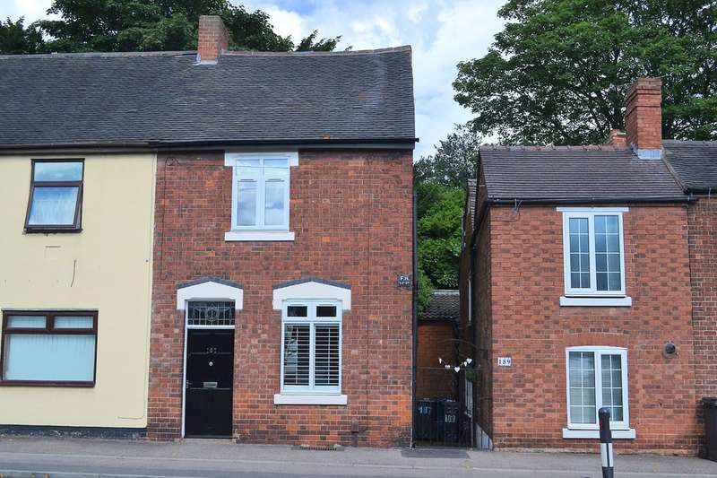 3 Bedrooms Semi Detached House for sale in Upper St John Street, Lichfield