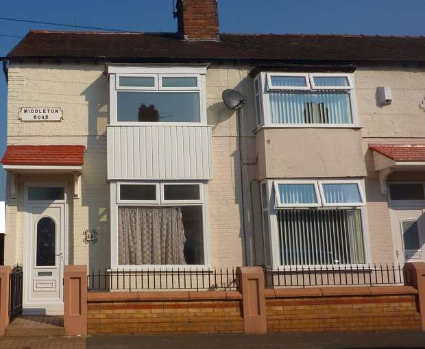 2 Bedrooms End Of Terrace House for sale in Middleton Road, Fairfield, Liverpool, L7