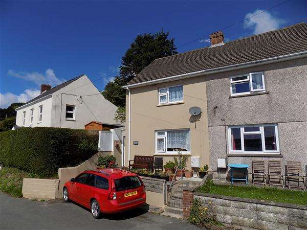 2 Bedrooms Semi Detached House for sale in Church Road, Lllanstadwell, Milford Haven