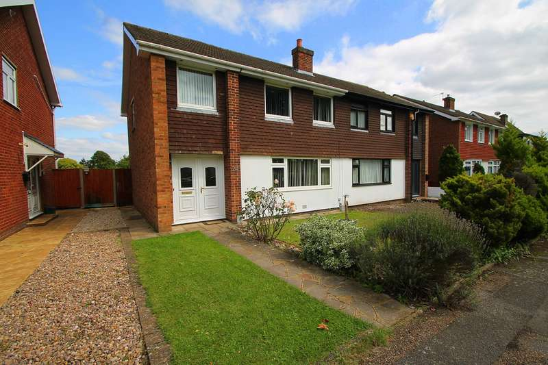 4 Bedrooms Semi Detached House for sale in Denman Drive, Ashford, TW15